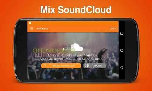 دانلود Cross DJ Pro 3.1.2 میکس موزیک در اندروید 1
