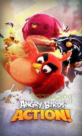 Angry Birds Action - انگردی بردز اکشن
