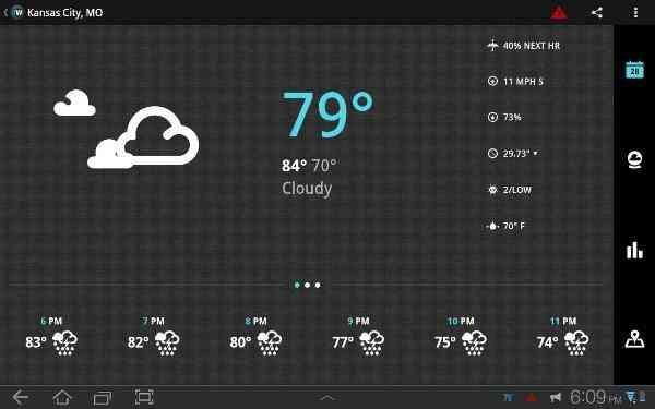 1Weather Pro | محبوب ترین برنامه هواشناسی
