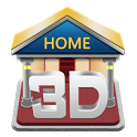 دانلود 3D Home v0.14.6.1281 لانچر سه بعدی