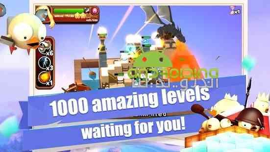 3D TD: Chicka Invasion – 3D Tower Defense! - بازی برج دفاعی: تهاجم چیکا