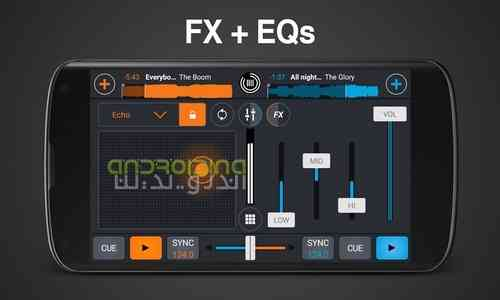 دانلود Cross DJ Pro 3.1.2 میکس موزیک در اندروید 4