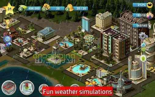 دانلود City Island 4 Sim Town Tycoon 1.6.7 بازی سیتی ایسلند 4 اندروید 1