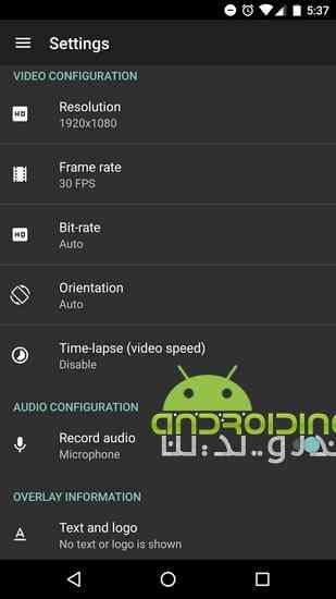 دانلود AZ Screen Recorder – No Root 4.8.2.1 ضبط فیلم از صفحه نمایش اندروید 3