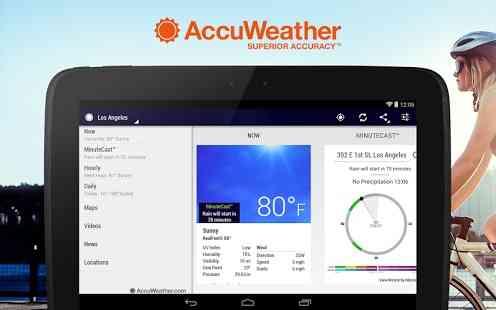دانلود AccuWeather Platinum 4.9.0 پیش بینی آب و هوا اندروید 2