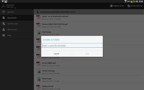دانلود Adobe Acrobat Reader 17.4.1.178813 نمایش فایل های PDF اندروید 2