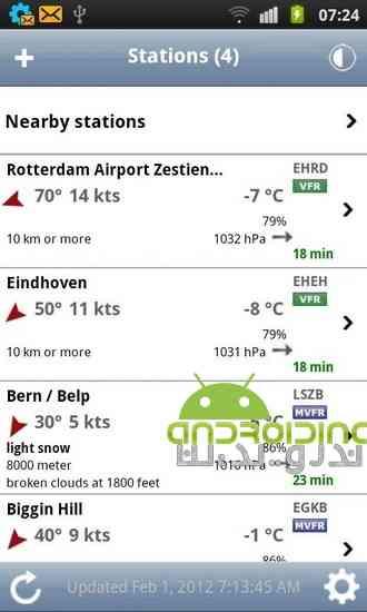 دانلود AeroWeather 1.78 نرم افزار هواشناسی حرفه ای برای اندروید 1