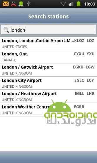 دانلود AeroWeather 1.78 نرم افزار هواشناسی حرفه ای برای اندروید 4