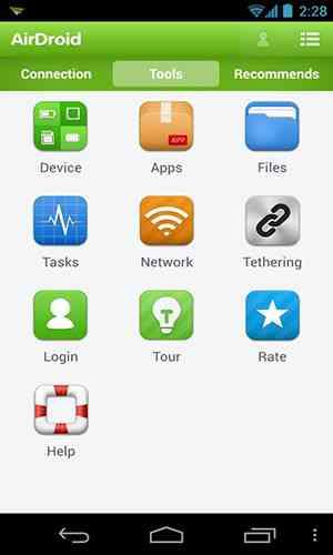 دانلود ایر دروید AirDroid 4.1.2 ارتباط بین اندروید و PC با WiFi اندروید 1