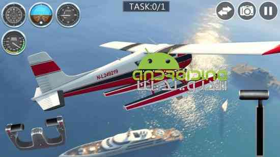 Airplane: Real Flight Simulator - بازی هواپیما: شبیه ساز واقعی