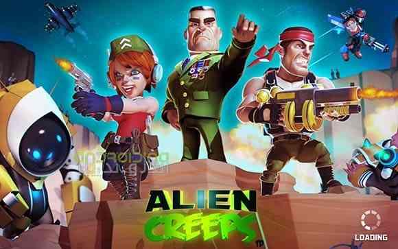 Alien Creeps TD - بازی خزش بیگانه ها