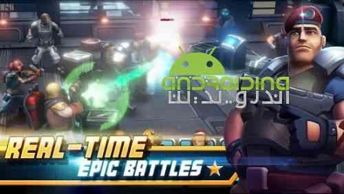 Alpha Squad 5: RPG & PvP Online Battle Arena - بازی نقش آفرینی گروه آلفا 5: نبرد آنلاین