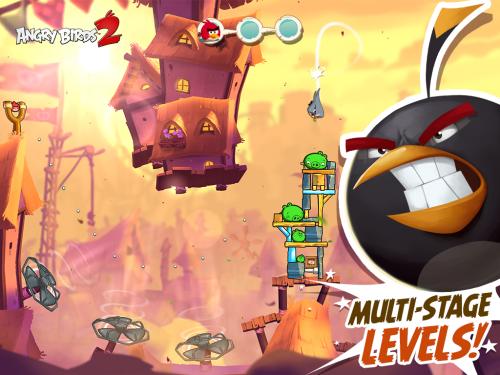 دانلود Angry Birds 2 2.14.0 سری دوم بازی پرندگان خشمگین اندروید + دیتا 1
