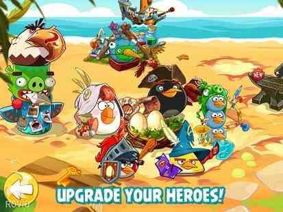 دانلود Angry Birds Epic 1.0.8 سری جدید بازی پرندگان خشمگین