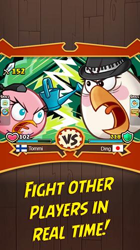 Angry Birds Fight   پرندگان خشمگین : حمله