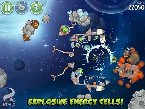 Angry Birds Space | بازی پرندگان خشمگین نسخه فضایی