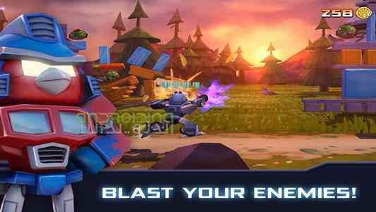 Angry Birds Transformers | پرندگان خشمگین ترانسفورماتور