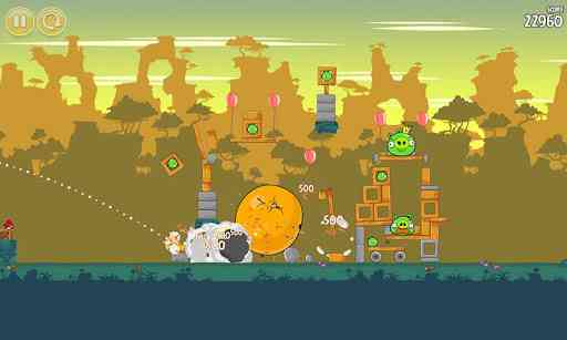 Angry Birds بازی معروف پرندگان خشمگین