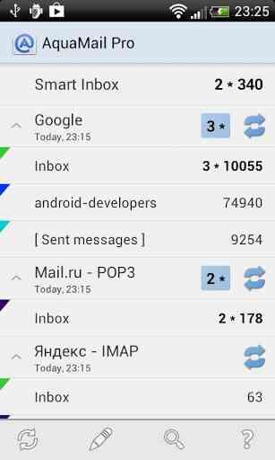 دانلود Aqua Mail – email app 1.8.0-192 نرم افزار جدید و واقعا عالی ایمیل اندروید 1