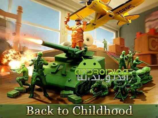 Army Men Strike - بازی ضربه ارتش مردان