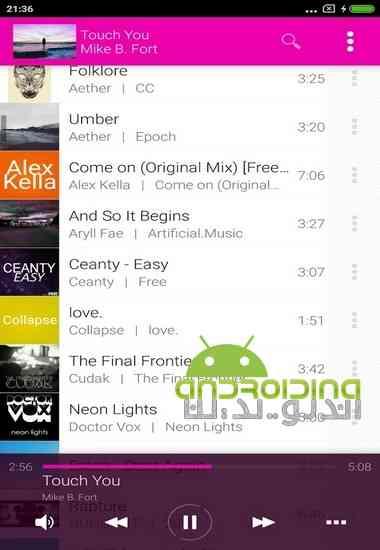 دانلود Avee Music Player (Pro) 1.2.73 موزیک پلیر فوق العاده برای اندروید 3