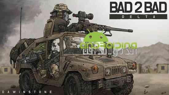 BAD 2 BAD: DELTA - بازی آنلاین سرگرم کننده بد 2 بد: دلتا