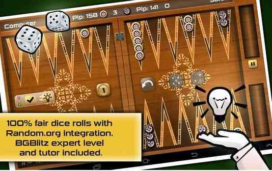 دانلود Backgammon Gold HD v2.3.0 بازی پر طرفدار تخته نرد