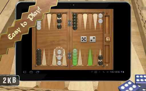 دانلود Backgammon Masters 1.6.11 بازی بسیار زیبای تخته نرد اندروید 1