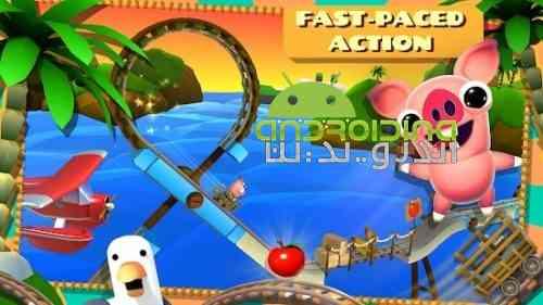 Bacon Escape - بازی اکشن فرار بیکن