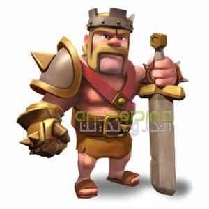 اموزش بازی Clash of Clans :بربرین کینگ Barbarian King