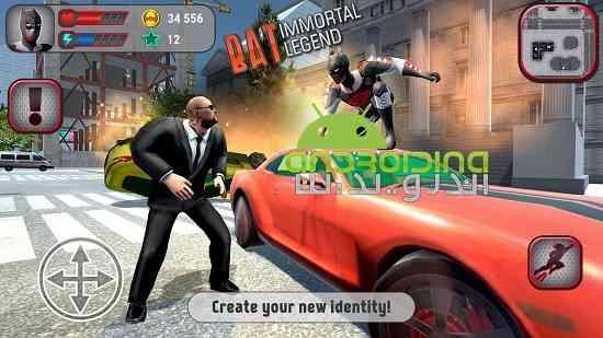 دانلود Bat: Immortal Legend 8.0.0 بازی بت: افسانه جاودانه اندروید 2