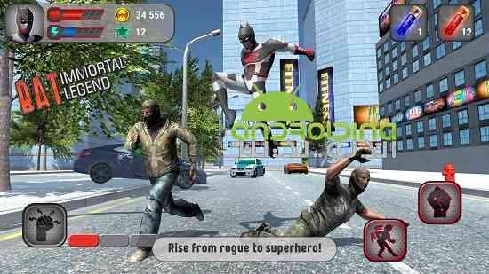 دانلود Bat: Immortal Legend 8.0.0 بازی بت: افسانه جاودانه اندروید 3