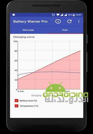 دانلود Battery Warner Pro 1.122 نرم افزار هشدار دهنده سطح باتری برای اندروید 2