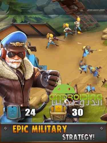 Battle Boom - بازی استراتژی سرگرم کننده نبرد توسعه یافته