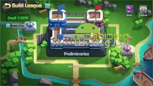 Battle Brawlers - بازی استراتژی شکارچیان نبرد