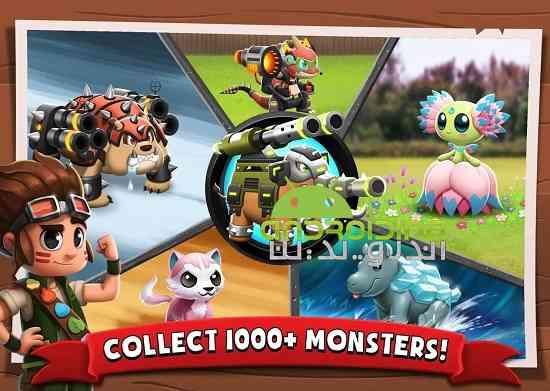 Battle Camp – Monster Catching - بازی اردوگاه جنگ – جذب هیولا