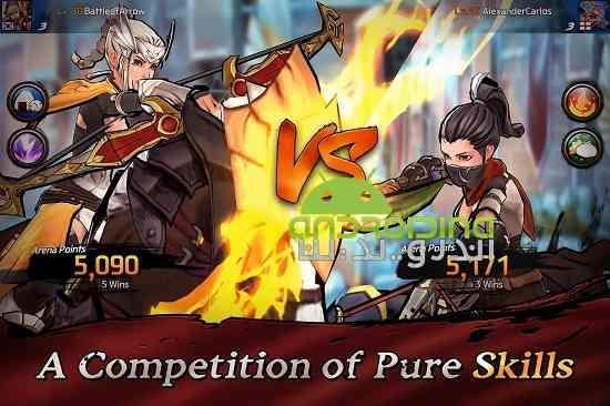 Battle of Arrow - بازی اکشن سرگرم کننده نبرد پیکان