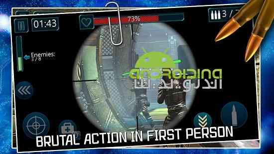 دانلود Battlefield Combat Black Ops 2 5.1.7 بازی مبارزان سیاه در میدان نبرد 2 اندروید 1