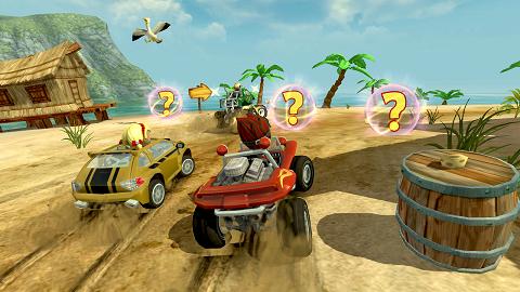 Beach Buggy Racing | بازی مسابقات ریسینگ باگی ساحلی