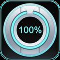 نمایش درصد میزان شارژ باطری Beautiful Battery Disc White v1.3.0