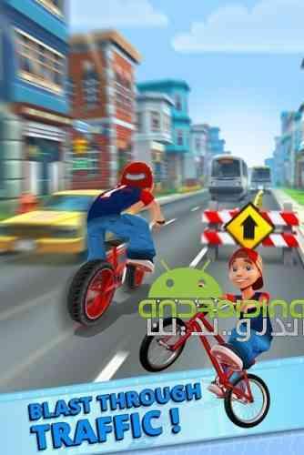 Bike Race – Bike Blast Rush - بازی مسابقه دوچرخه سواری - حمله انفجاری