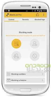 دانلود BlackList Pro 4.91 اپلیکیشن رد و بلاک کردن تماس ها و پیام ها اندروید 2