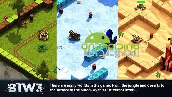 Block Tank Wars 3 - بازی آنلاین سرگرم کننده متوقف کردن تانک جنگی 3