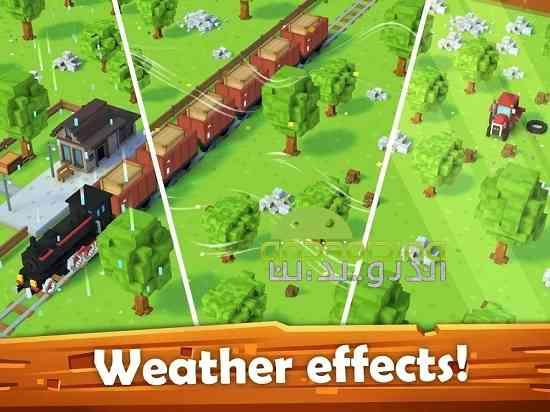 Blocky Farm - بازی سرگرم کننده مزرعه بلوکی