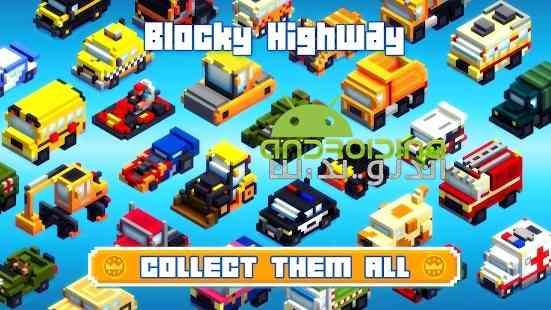 Blocky Highway: Traffic Racing - بازی بزرگراه پیکسلی: مسابقه ترافیکی