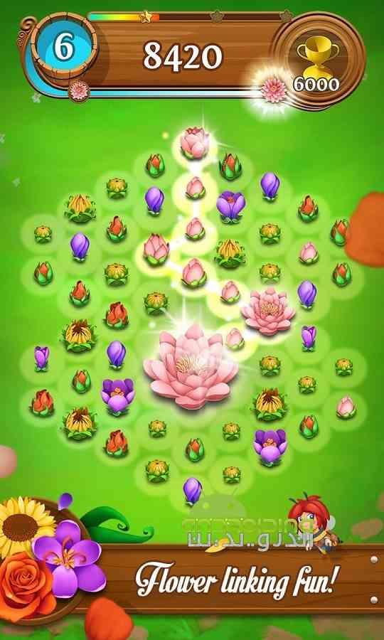 دانلود Blossom Blast Saga 50.0.4 بازی انفجار گل ها اندروید 1