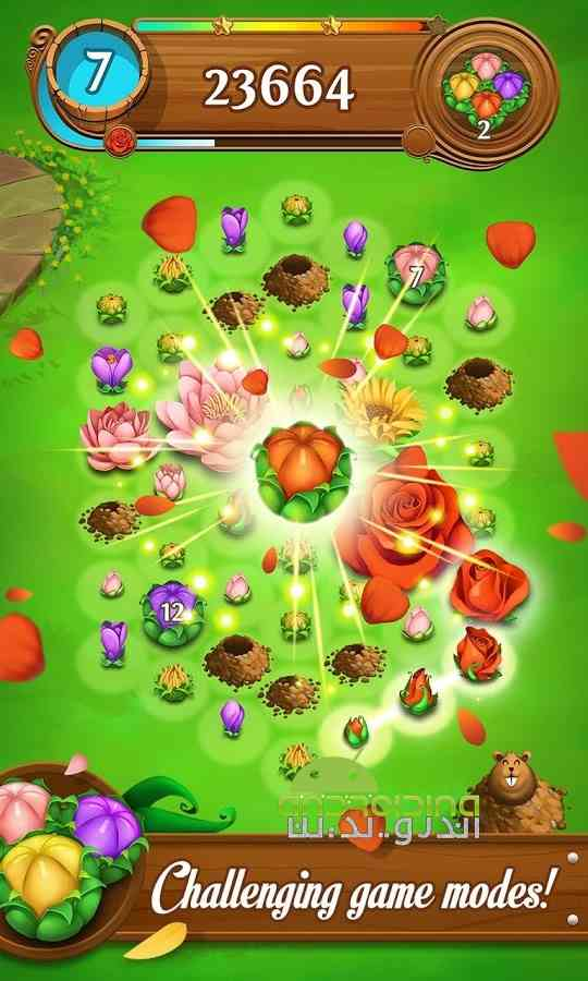 دانلود Blossom Blast Saga 50.0.4 بازی انفجار گل ها اندروید 2