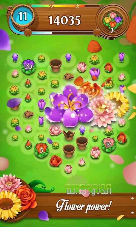 دانلود Blossom Blast Saga 50.0.4 بازی انفجار گل ها اندروید 3