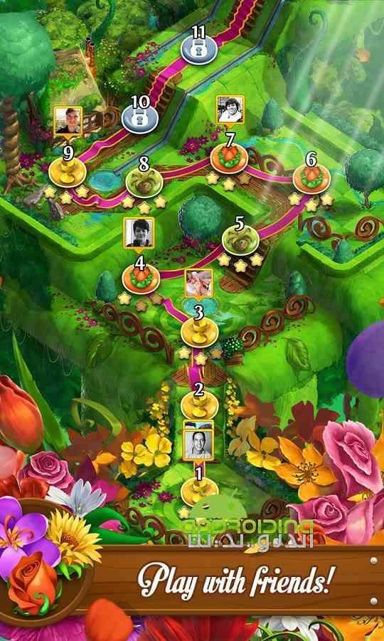 دانلود Blossom Blast Saga 50.0.4 بازی انفجار گل ها اندروید 4