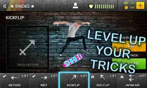 دانلود Boardtastic Skateboarding 2 v3.0.4 بازی اسکیت 1